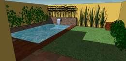 CC|arquitectos의  수영장