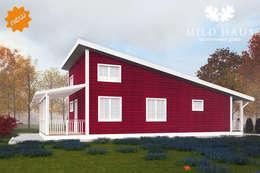 Второй фасад дома Норвегия: Дома в . Автор – Mild Haus