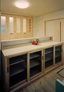 小栗建築設計室의  주방
