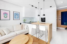 Patryk Kowalski Architektura i projektowanie wnętrz: modern tarz Mutfak