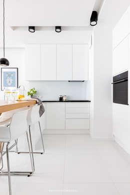 ul. Siedmiogrodzka: styl , w kategorii Kuchnia zaprojektowany przez Patryk Kowalski Architektura i projektowanie wnętrz