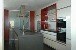 Projekty,  Kuchnia zaprojektowane przez Noesser Padberg Architekten GmbH