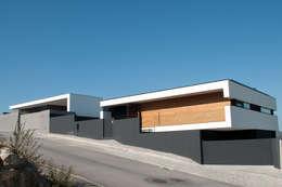 Casas de estilo moderno por Miguel Zarcos Palma