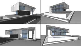 House in Ibiza: Дома в . Автор –  Aleksandr Zhydkov Architect