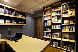 NATURAL WOOD HOUSE: housetherapy의  서재 & 사무실