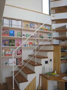 喜連の家 Ⅱ: 株式会社 atelier waonが手掛けた廊下 & 玄関です。