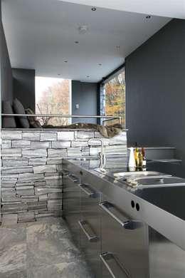 Cocinas de estilo moderno por Arend Groenewegen Architect BNA