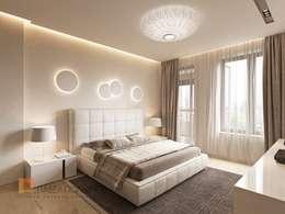Dormitorios de estilo minimalista de Студия Павла Полынова