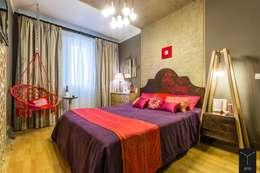 ห้องนอน by Yucubedesign