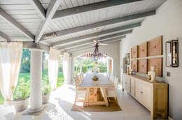 CASA BNG: Comedores de estilo moderno por BLOS Arquitectos