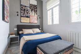 Projekty,  Sypialnia zaprojektowane przez Pablo Cousinou