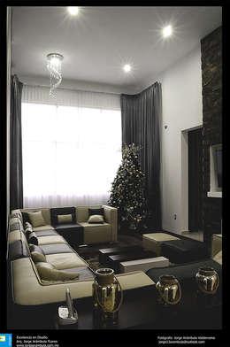 sala: Salas de estilo moderno por Excelencia en Diseño