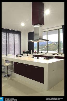 modern Kitchen by Excelencia en Diseño