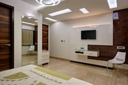 Apartment at Tirupur: modern Bedroom by Cubism