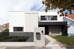 Projekty, nowoczesne Domy zaprojektowane przez PASCHINGER ARCHITEKTEN ZT KG