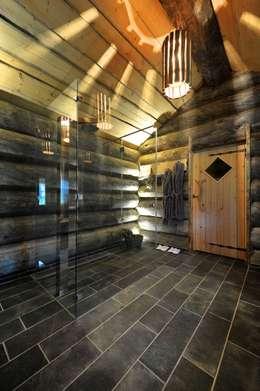 Projekty,  Łazienka zaprojektowane przez Natursteinwerk Rechtglaub-Wolf GmbH