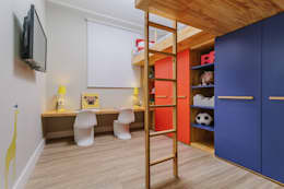 modern Nursery/kid's room by STUDIO LN