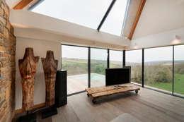 Livings de estilo moderno por Trewin Design Architects