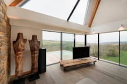 Trewin Design Architects: modern tarz Oturma Odası