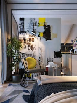 scandinavian Bedroom by Vashantsev Nik