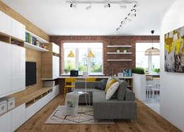 غرفة المعيشة تنفيذ 3D GROUP