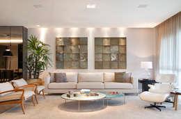 Salon de style de style Moderne par Isabela Lavenère Arquitetura