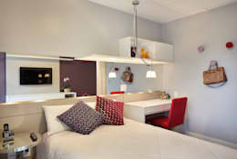 moderne Schlafzimmer von Isabela Lavenère Arquitetura
