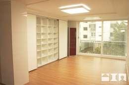 목동우성 아파트 리모델링 : DESIGNSTUDIO LIM_디자인스튜디오 림의  거실