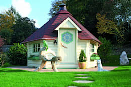 Jardines de estilo escandinavo por Gartenhaus2000 GmbH
