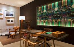 modern Study/office by daniela andrade arquitetura