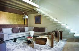 Projekty,  Salon zaprojektowane przez cristina mecatti interior design