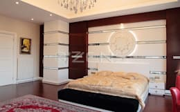 QZENS MOBİLYA – Keskin Konutu: modern tarz Yatak Odası