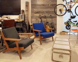 Egawa Architectural Studio의  차고