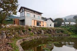 Дома в . Автор – 위무위 건축사사무소