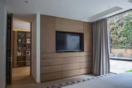Apto PA2: Salas de estilo moderno por AMR ARQUITECTOS