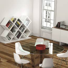 Bibliothèque Verona 3x2: Salon de style de style Moderne par TAHANEA