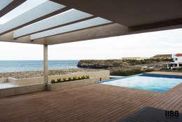 Projekty, nowoczesne Domy zaprojektowane przez iibbarquitectes