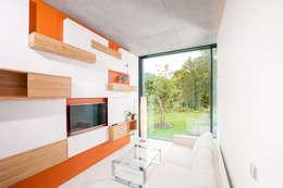 modern Living room by SEHW Architektur GmbH