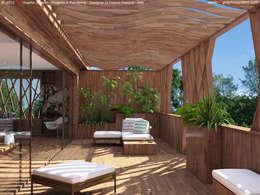 ระเบียง, นอกชาน by 3D Graphic System