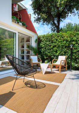 Jardines de estilo minimalista por Maurizio Giovannoni Studio
