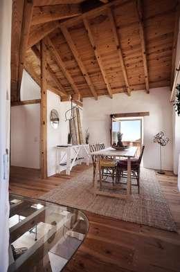 pedro quintela studio: rustik tarz tarz Yemek Odası