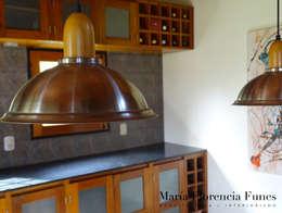 rustic Kitchen by María Florencia Funes