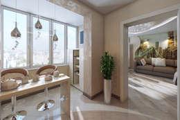 Cuisine de style de style eclectique par МайАрт: ремонт и дизайн помещений