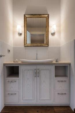 Projekty,  Łazienka zaprojektowane przez Melissa Giacchi Architetto d'Interni