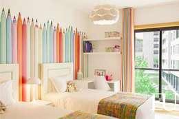 modern Nursery/kid's room by EU INTERIORES