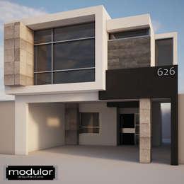 Maisons de style de style Moderne par Modulor Arquitectura