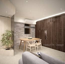 Illumination Terrace | Tai Hang | Hong Kong: modern Dining room by Nelson W Design