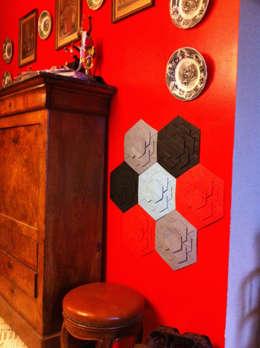 Décor Mural RAINBOW (vendu par lot de 10 pièces) - ∅ 27,5 cm: Murs & Sols de style de style Moderne par ARTURASS