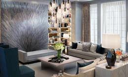 Salas de estar modernas por LINLEY London