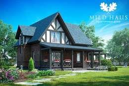 Projekty, klasyczne Domy zaprojektowane przez Mild Haus